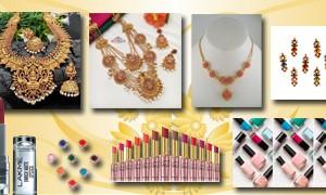 WOMEN'S FASHIONS & 1GM GOLD ORNAMENTS